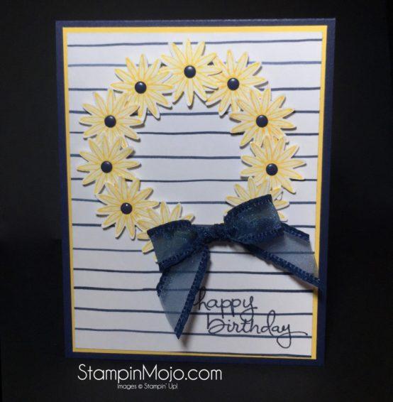 Stampin up, Grateful Bunch, Birthday card - Michelle Gleeson, SU