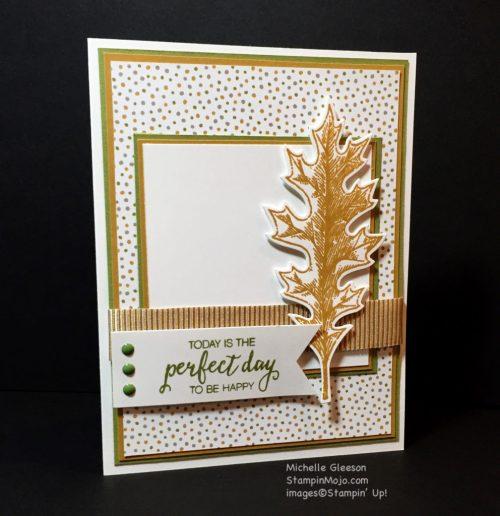 Stampin up, Vintage Leaves, PPA308 - Michelle Gleeson, StampinMojo, SU