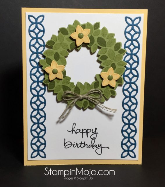 Stampin Up Flourish Thinlits PPA 315- Michelle Gleeson Stampinup