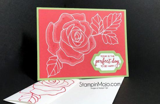 Stampin Up Rose Wonder Birthday Michelle Gleeson Stampinup SU