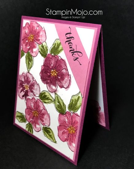 Stampin Up Penned and Painted Another Thank you Thank you card Michelle Gleeson Stampinup