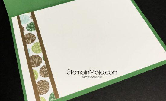 Stampin Up Coffee Break DSP TTTC1 inside card Michelle Gleeson Stampinup SU