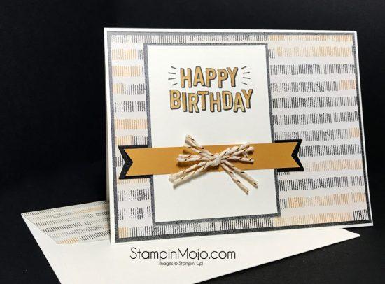 Stampin Up Confetti Celebration Masculine Birthday Michelle Gleeson Stampinup