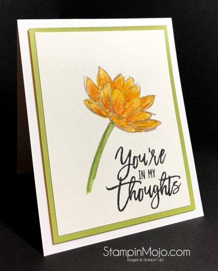 Stampin Up Remarkable You Watercolor Pencils Thoughtful Branches Michelle Gleeson Stampinup SU