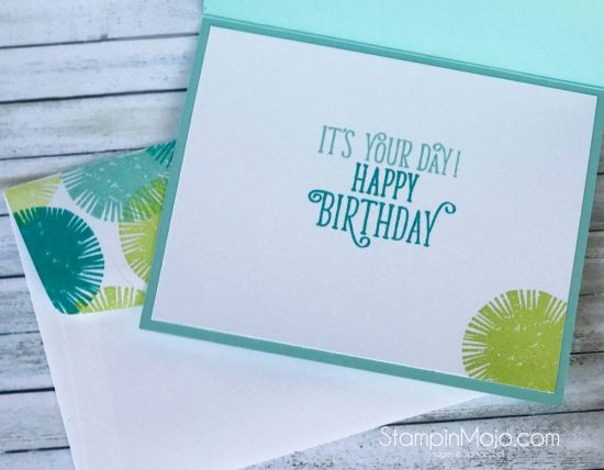 Stampin Up Lovely Inside and Out Birthday card idea Michelle Gleeson Stampinup SU Right at Home Script Greeting dies