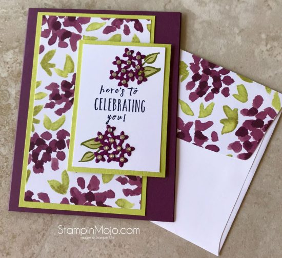 Stampin Up Perennial Birthday Naturally Electic DSP Birthday card idea Michelle Gleeson Stampinup SU