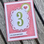 Stitched All Around Birthday Card