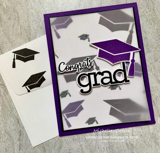 Simon Says Stamp Hats off Grad CZDesign Grad Party Graduation Card Ideas Michelle Gleeson SSS