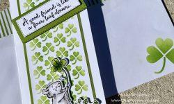 Colorado Craft Company 4 Leaf Clover Friendship Cards Idea Michelle Gleeson The Spot Challenge #151