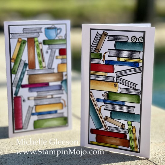 Hero Arts Book Stacks Literally the Best Thinking of you card ideas Michelle Gleeson .jpg