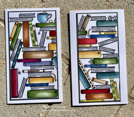 Hero Arts Book Stacks Literally the Best Thinking of you card ideas Michelle Gleeson