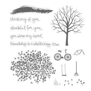 Sheltering Tree Stamp Set