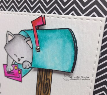 Special Delivery by Jen Timko | Newton's Happy Mail Stamp Set by Newton's Nook #newtonsnook