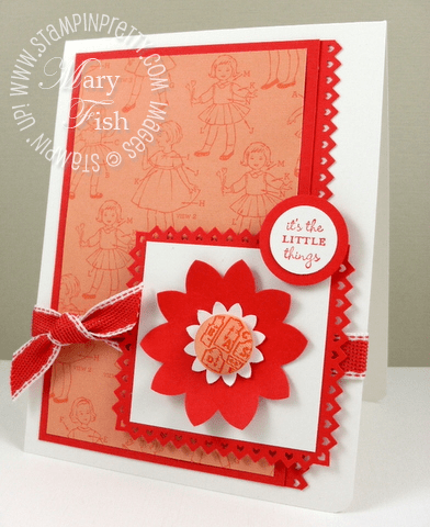 Stampin up occasions mini catalog sweet stitches