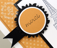 Stampin up video tutorial medallion scallop circle punch
