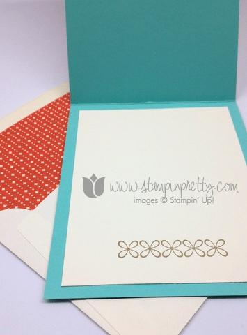 Stampin up stamping stamp it youre lovely saleabration envelope liner framelits die handmade card diy idea