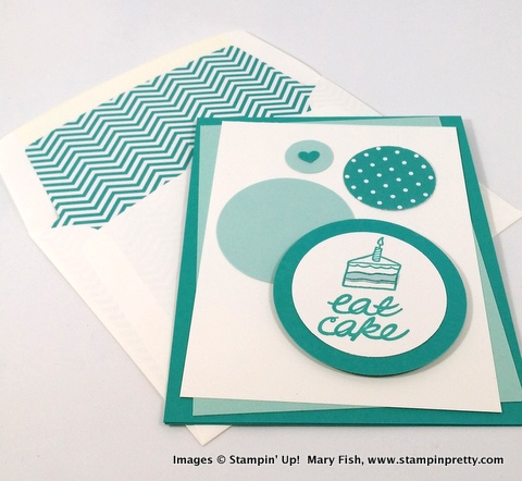 Stampin' up! stampin up stamping stampinup pretty mary fish one tag fits all 7