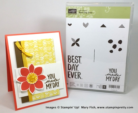 Stampin up stampin' up! stamping stampinup mary fish best day ever 5