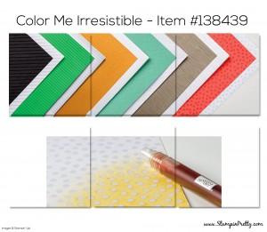 Stampin Up Color Me Iresistible Designer Series Paper