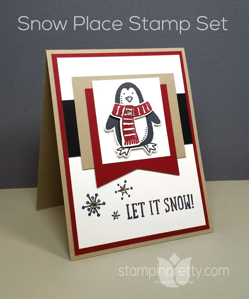 Making Winter Magic With Snow Place Stampin Pretty