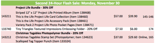 24 hour flash sale