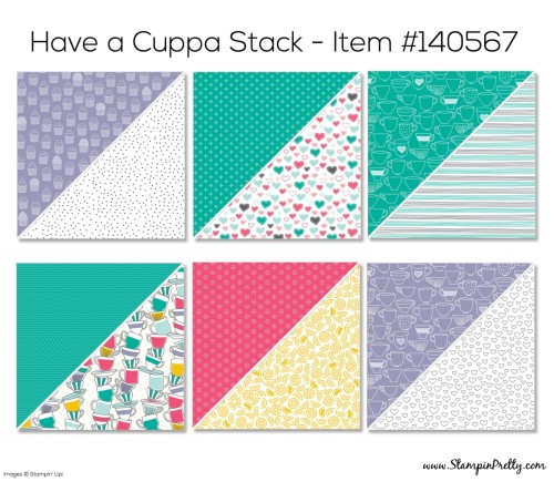 Stampin Up Have a Cuppa Designer Series Paper