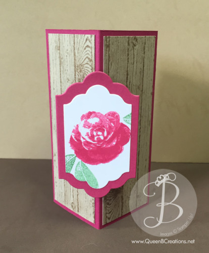 Pals Paper Crafting Card Ideas Corner Card Mary Fish Stampin Pretty StampinUp