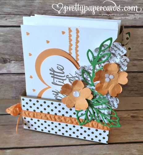 Pals Paper Crafting Card Ideas Card Holder Mary Fish Stampin Pretty StampinUp