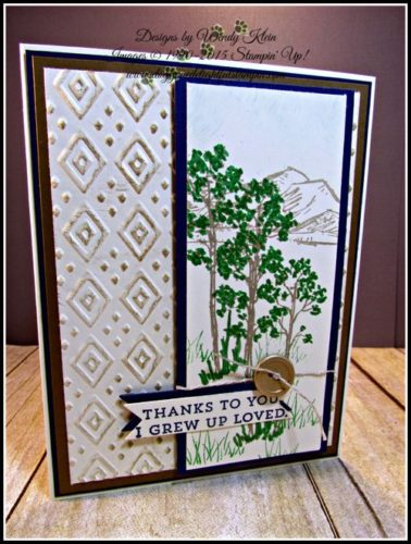 Pals Paper Crafting Card Ideas In the Meadow Mary Fish Stampin Pretty StampinUp