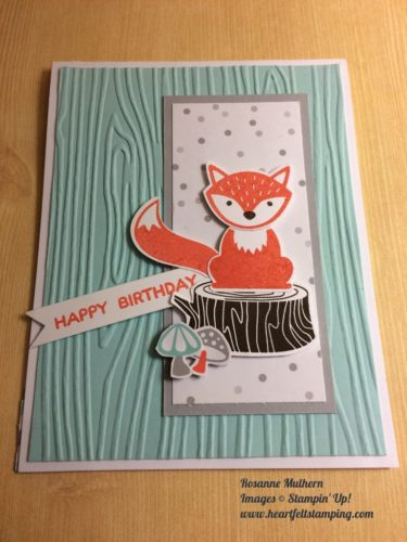 Pals Paper Crafting Card Ideas Rosanne Mulhern Mary Fish Stampin Pretty StampinUp