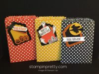 stampin up halloween labels
