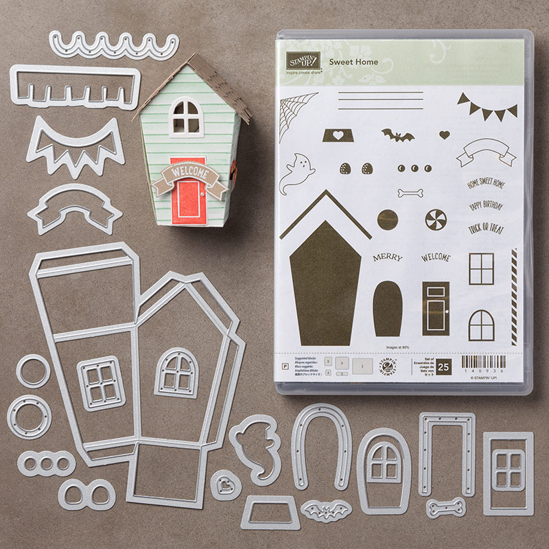 Stampin Up Video Sweet Home Bundle Stampin Pretty