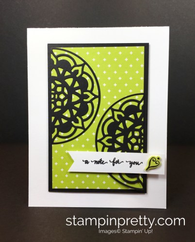 Eastern Palaces Medallions Dies Thank You Notes - Mary Fish StampinUp 1
