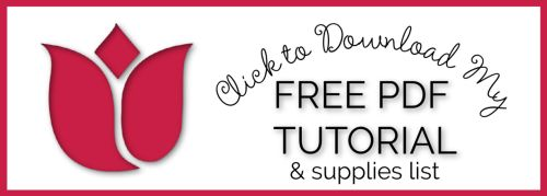Free PDF Tutorial and Supplies Graphic