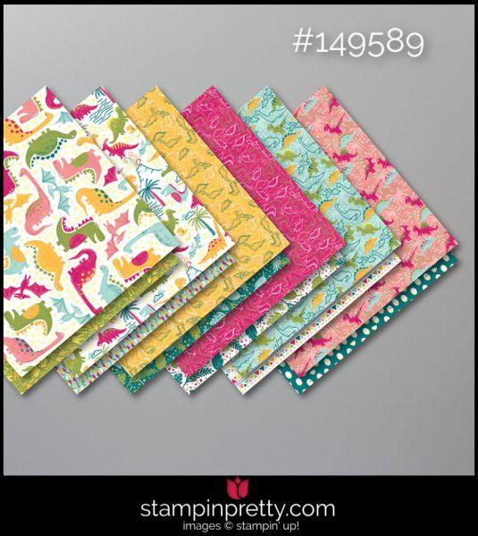 Stampin' Up! Dinoroar Designer Series Paper