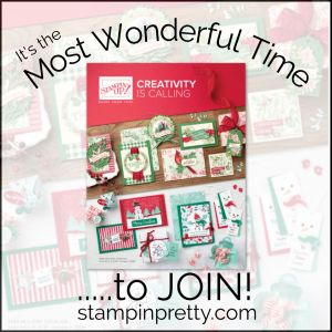 It's the Most Wonderful Time to Join Stampin' Up!