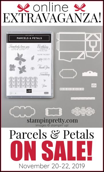 Online Extravaganza Parcels & Petals 151107 by Stampin' Up!