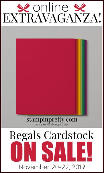 Online Extravaganza Regals Cardstock
