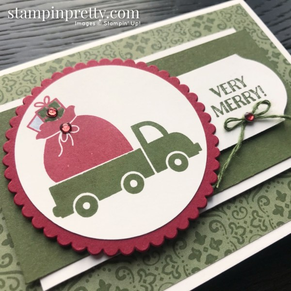 Holiday Haul Stampin' Rewards Exclusive Stamp Set from Stampin' Up! Note card by Mary Fish, Stampin' Pretty(1)