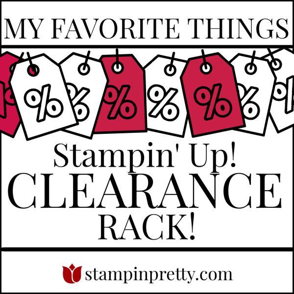 My Favorite Things- Clearance Rack(2)
