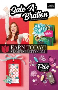 2020 Stampin' Up! Sale-A-Bration Promotion Catalog, Earn while shopping with Mary Fish, Stampin' Pretty!