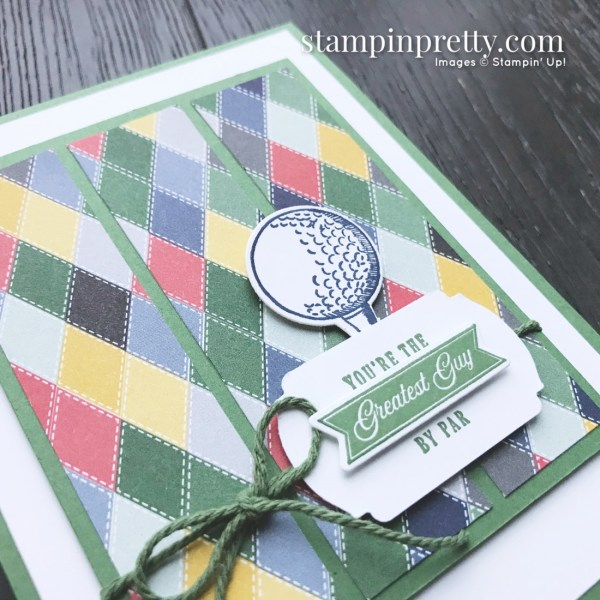 Country Club Designer Series Paper & Clubhouse Bundle from Stampin' Up! Card by Mary Fish, Stampin' Pretty(3)
