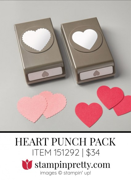HEART PUNCH PACK 151292 by Stampin Up!