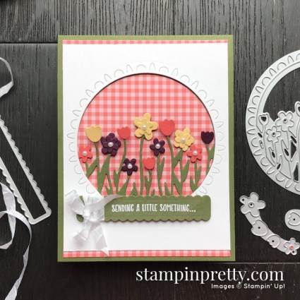 Stampin' Up! Sending Flowers Dies Coordination Product - Card by Mary Fish, Stampin' Pretty