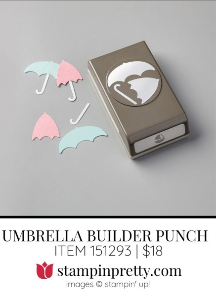 Umbrella BUILDER PUNCH 151293 by Stampin Up!
