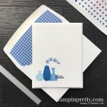 Create this card using the Varied Vases Stamp Set by Stampin