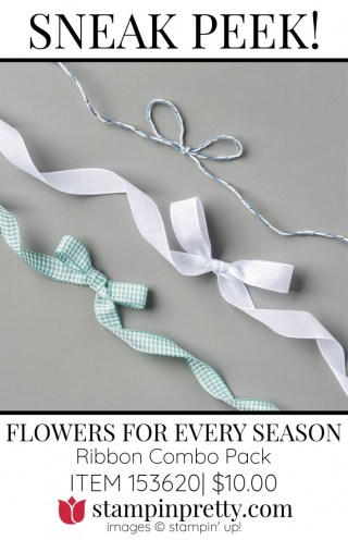 2020-2022 Flowers for Every Season Ribbon Combo Pack 153620 by Stampin' Up!