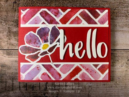 Stampin' Pretty Pals Sunday Picks 05.17- Karen Hallam
