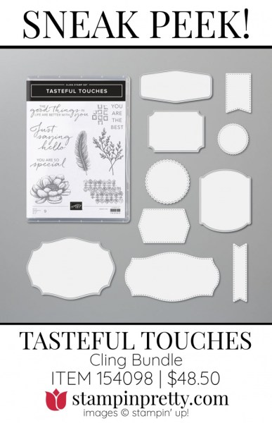 Tasteful Touches Bundle by Stampin' UP! 154098