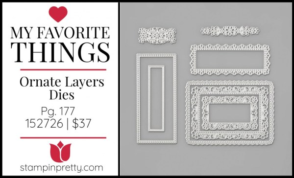 My Favorite Things - Ornate Layers dies